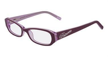 Disney Princess Womens Eyeglasses - DISNEY Eyeglasses PRINCESS MAJESTIC 205 Root Beer Teal 47MM