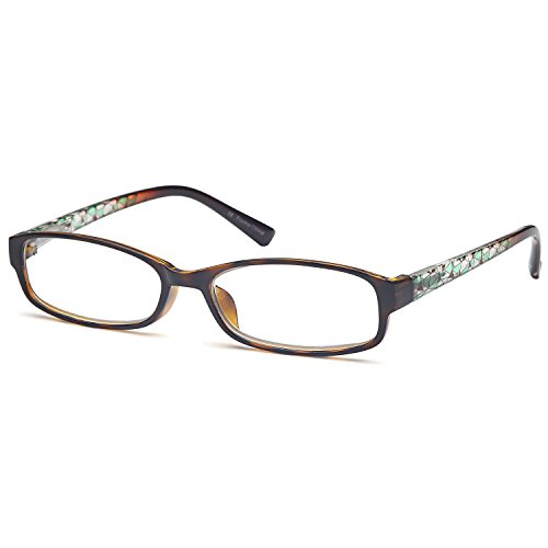 GAMMA RAY 3 Pairs Women Fashion Readers Thin Elegant Reading Glasses - 3.00x