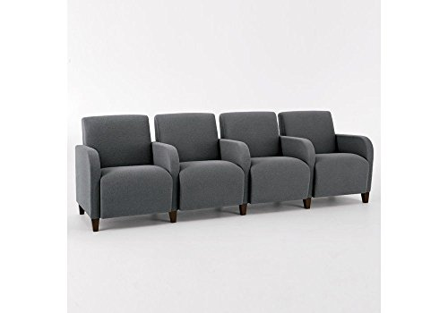 Siena Four Seat Sofa with Center Arms Dimensions: 99.5