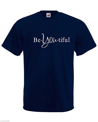 Mots À Relatif Motivationnelle Chemise Gratuit Décalque Hommes You Magnifique Citation Avec Modèle Bleu Be Marine Cadeau shirt Texte L'inspiration Tiful T zxAq86w
