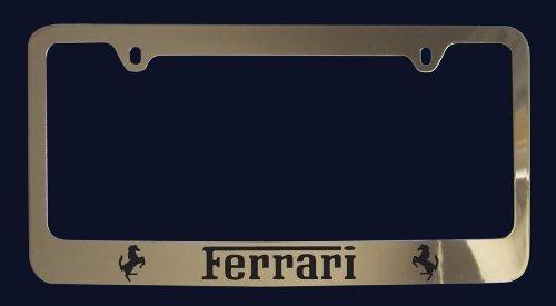 Ferrari License Plate Frame V2 Zinc Metal Buy Online In Burkina Faso At Burkinafaso Desertcart Com Productid 14908151