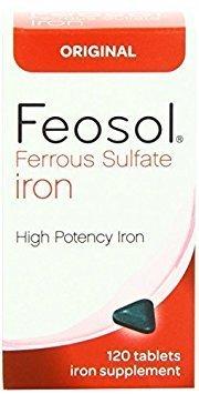 Cheap Feosol Original Vitamins, 120 Count (Pack of 2) by Feosol