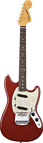 Fender Classic Series Mustang Electric Guitar, Rosewood Fingerboard - Dakota Red