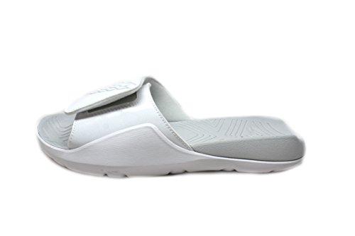 c9ac419e2de9 Grade School Jordan Hydro 7 BG White Pure Platinum