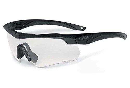 Safety Glasses, Black, Clear - Glasses Change Lenses