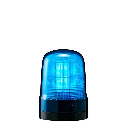 パトライト 回転灯 SF10-M2KTN-B Φ100 AC100~240V 発光パターン(22種) 青色 2点穴式取付 プッシュイン端子台