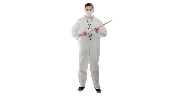 El doctor médico batas escudo de vestuario médico Carnival XL: Amazon.es: Juguetes y juegos