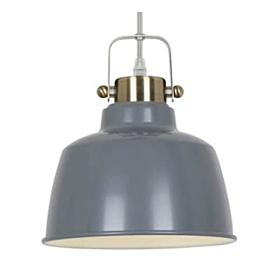Light Society LS-C169-WHI Mercer Pendant Lamp, Matte White