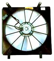 TYC 600530 Honda Replacement Radiator Cooling Fan Assembly - Performance Radiator Fan Motor