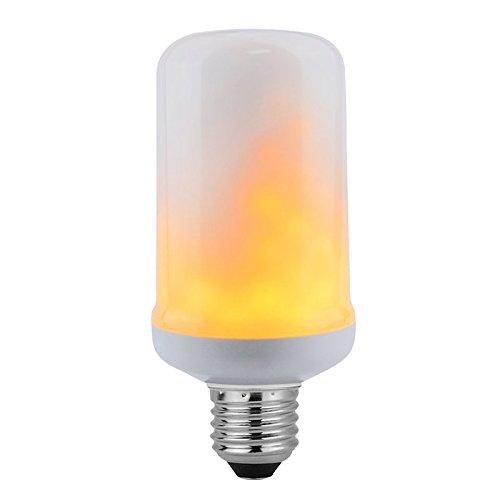 Bombilla LED E27 FIRE, 7,5W, Blanco cálido. Bombilla LED simula llama interior como una antorcha: Amazon.es: Iluminación