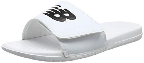 New Balance Unisex-Erwachsene Sd230nv Badeschlappen Weiß (White)