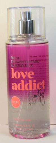 Victoria's Secret Love Addict Beauty Rush Fresh Strawberry & Almond Milk Fragrance Mist 8.4 Fl. Oz. by Victoria's Secret