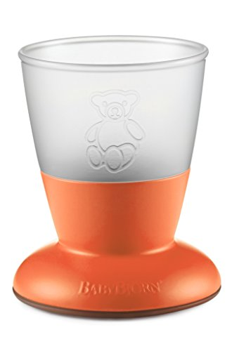 BABYBJORN Cup, Turquoise/Orange, 2-Count