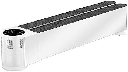 ベースボード電気ヒーター-床変換暖房、安全なチャイルドロックデザイン、折りたたみ式ストレージ省エネ高速ヒーター、IP24リビングルームとベッドルームに最適,2500w