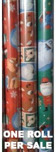 Rudolph the Red Nosed Reindeer Xmas Wrapping Paper (Christmas Paper Wrapping Dora)