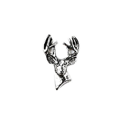 Quality Handcrafts Guaranteed Deer Lapel Pin by Quality Handcrafts Guaranteed