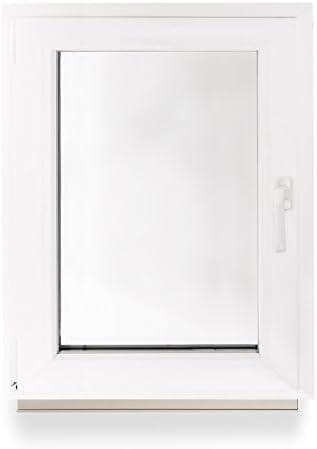 1000 x 600 mm Winkhaus Beschlag Isolierglas DIN Links Kellerfenster Kunststoff Fenster Dreh Kipp 100 x 60 cm