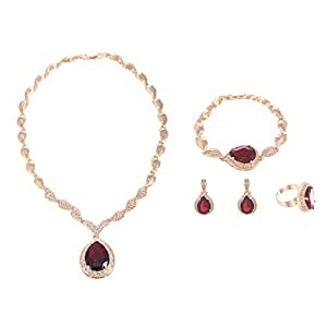 Gold Plated Jewelry Sets - 5 Pieces
