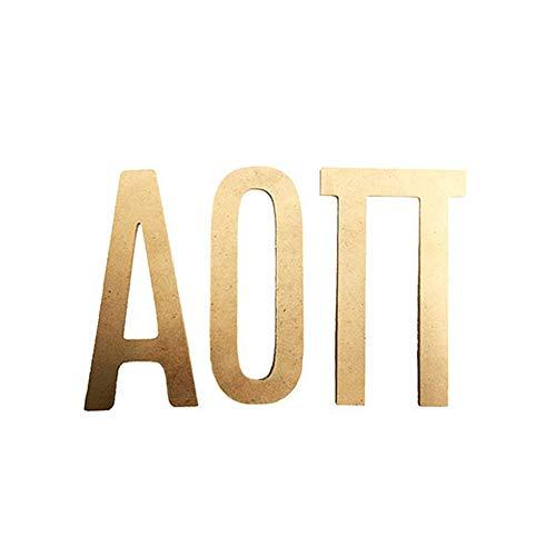 Pi Greek Letter - Alpha Omicron Pi Sorority 7.5