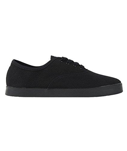 Shoe Trainer Sneaker Lindy Swing Rumpf upper Dance Boogie Gymnastics Training Canvas black Black 1589 Dancesneaker Hop Vulan Indoor fqgfxPHUw