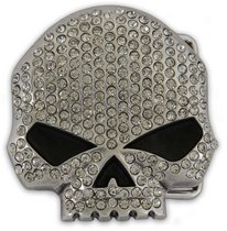 Crystal Skull Buckle - 6