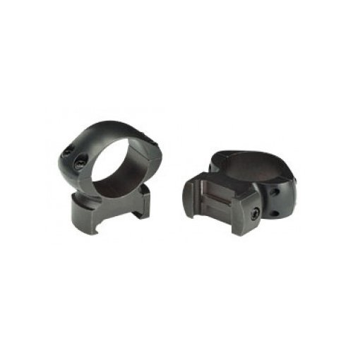 Weaver Grand Slam 1-Inch High Steel Top Mount Rings (Matte Black) by WEAVER