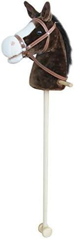 Sweety Toys 5086 Cheval, Super d', Sweety Toys, Couleur Douce Chocolate Marron-avec crinière noire très acier avec fonction