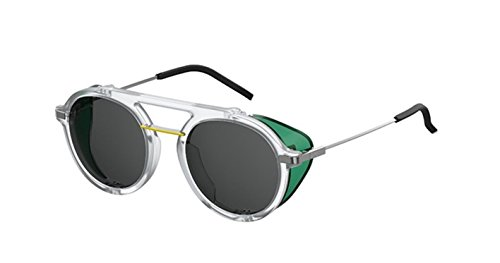New Fendi FF M 0012/S 900/IR crystal green/grey Sunglasses