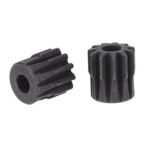 Part & Accessories FBIL-2Pcs M1 5mm Pinion Motor Gear for 1/8 RC Car Brushed Brushless Motor - (Color: 11T)