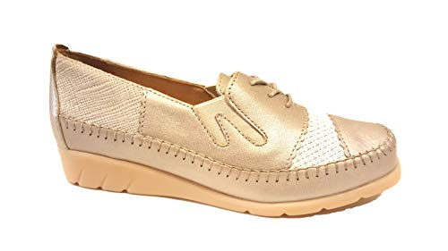 Zapatos de Mujer Piel de Cordones Luxat Lisa 7dnUwqO7SW