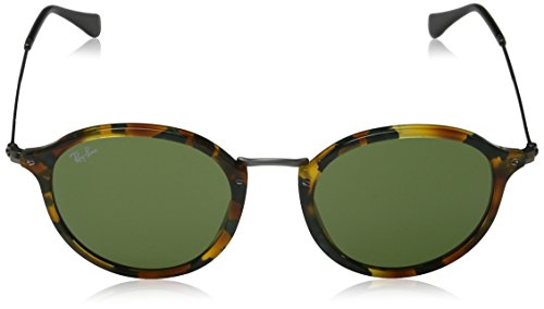 Green Ray Round RB Havana Spotted 2447 classic Sonnenbrille Ban f0ZxqfB