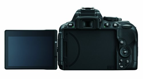 Nikon D5300 24.2 MP CMOS Digital SLR Camera with Built-in Wi-Fi and GPS Body Only (Black) by Nikon (Image #3)