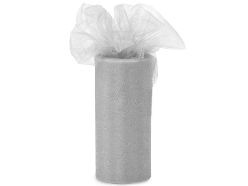 Tulle Roll 6 By 75 Ft-Silver/Grey by All the Makings   B0040M8K0G