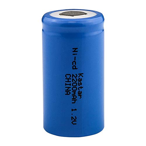 (SubC Cell 1500mAh NiCd 1.2V Flat Top Rechargeable Battery)