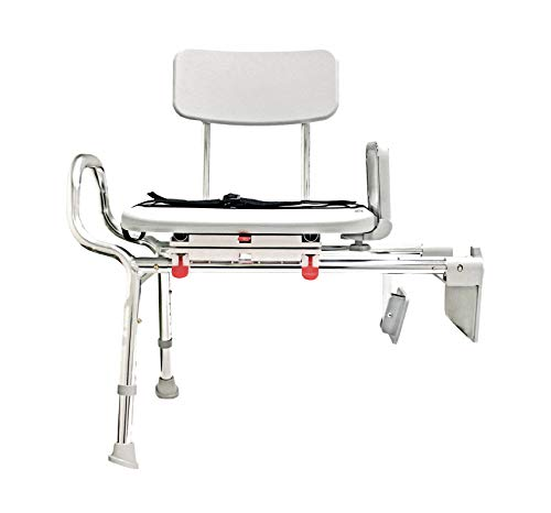 EagleHealth Tub-Mount Swivel Sliding Bench 77762