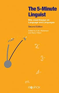 product image for The Five-Minute Linguist: Bite-sized Essays on Language and Languages