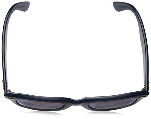 Ray-Ban Wayfarer Non-Polarized Iridium Square Sunglasses, Blue, 50 mm