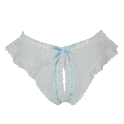 LoveFifi Women's Jezebel Crotchless Panty