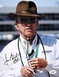 Jack Roush Signed Nascar Cat N Hat 8x10 Photo JSA - Authentic Signed Autograph