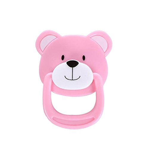 MChoice 1PC New Dummy Pacifier For Reborn Baby Dolls With Internal Magnetic Accessorie (Pink)