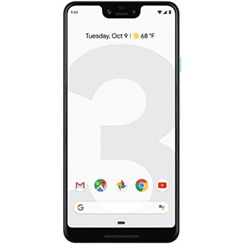 Google Pixel 3 XL Unlocked GSM|CDMA - US Warranty (Clearly White, 64GB)