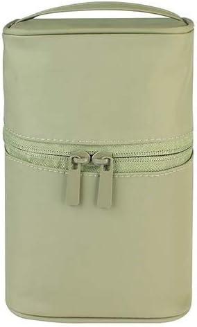 YouNITE 女性旅行洗面化粧バッグトイレタリーキットの男性のプロフェッショナル防水主催ケース美容化粧ポーチ (Color : GREEN)