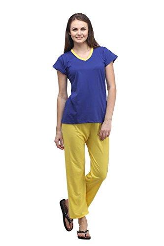 Klamotten Women's Cotton Pyjama Set Pyjama Sets at amazon
