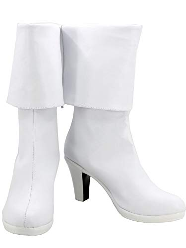GOTEDDY Women's Monica Cosplay Boots Halloween Shoes Costume Accessories (9.5 M US -