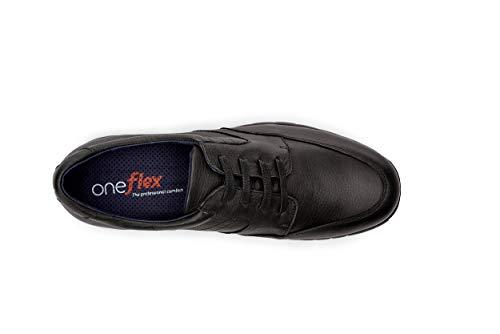 gael Mod Confortevoli Oneflex uomo antiderapant da Scarpe morbida professionale nera Pelle x6XIZqnS
