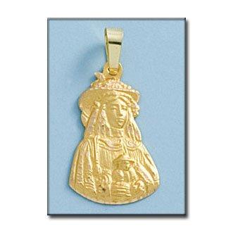 Médaille D'or 18kt V. Rocio Pastora Silueta