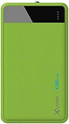 Xlayer Colour Line batería Externa Verde Polímero de Litio 4000 mAh: Amazon.es: Electrónica