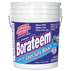 Non Chlorine Bleach Powder (Dial 871882 Borateem Non-Chlorine Color Safe Bleach,17.5 lb Pail, 424 Loads)