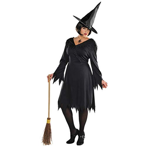 Suit Yourself Classic Witch Halloween Costume for Women, Black, Plus Size - http://coolthings.us