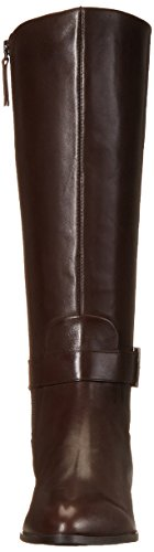 Brown Leather Dark Women's High West Diablo Knee Nine Boot vqn847F7Z